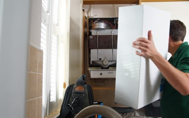 Boiler installation in Worcestershire